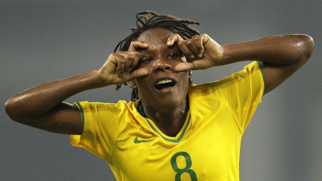 Formiga comemora o primeiro gol dos 4 a 1 contra a Alemanha 733fe72e38e2e